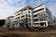 Modernes Gebäude im Bau Stockfotos