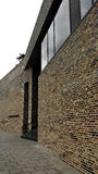 Modernes Gebäude in Lübeck, Deutschland Lizenzfreies Stockbild