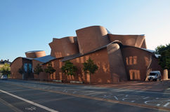 Modernes Gebäude Museums des Marta-Herford Lizenzfreies Stockfoto