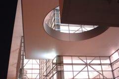 Modernes Gebäude nachts 17 Lizenzfreie Stockfotos