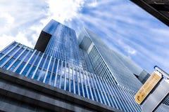 Modernes Gebäude in Rotterdam lizenzfreie stockbilder