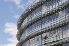 Modernes Gebäude u. Strahl Lizenzfreie Stockbilder