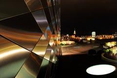 Modernes Gebäude in Vilnius, Europa Stockfotografie