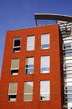 Modernes genossenschaftliches Gebäude stockfotos