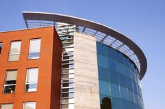 Modernes genossenschaftliches Gebäude lizenzfreie stockfotos