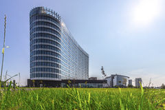 Modernes Geschäftszentrum Stockfotos