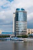 Modernes Geschäftszentrum. Moskau. Lizenzfreies Stockfoto