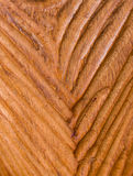 Modernes geschnitztes Holz mit V-Form Beschaffenheits-Hintergrund Stockfoto