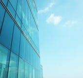 Modernes Glasgeschäftszentrum Stockfoto