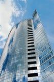 Modernes glasiges Gebäude Stockfotos