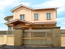 Modernes großes Haus Stockbild