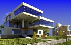 Modernes Häuschen stockfoto