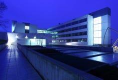Modernes Handelsgebäudeäußeres Stockfoto