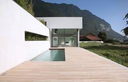 Modernes Haus Lizenzfreies Stockbild
