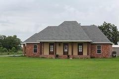 Modernes Haus Louisianas lizenzfreie stockbilder