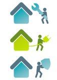 Modernes Hauszeichen
