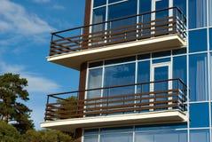 Modernes Hotelfragment lizenzfreies stockbild