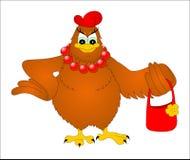 Modernes Huhn Stockbild