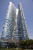 Modernes ikonenhaftes Gebäude, Abu Dhabi, UAE Lizenzfreies Stockfoto