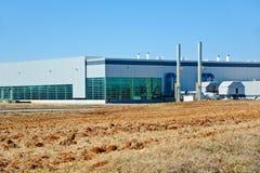 Modernes Industriegebäude Stockbilder