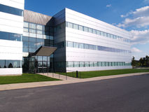 Modernes Industriegebäude Lizenzfreies Stockfoto