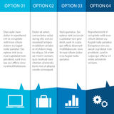 Modernes infographics Lizenzfreie Stockfotos