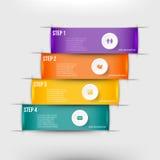 Modernes infographics Element Lizenzfreie Stockbilder