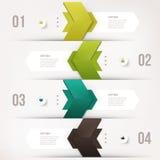 Modernes infographics Element Stockbilder