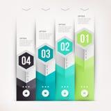 Modernes infographics Element Stockfotografie