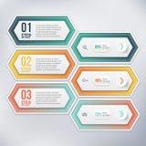 Modernes infographics Element Lizenzfreies Stockbild