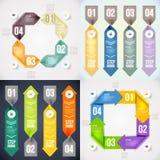 Modernes infographics Element Lizenzfreie Stockfotografie