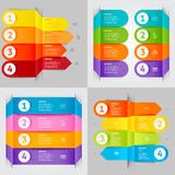 Modernes infographics Element Lizenzfreies Stockfoto