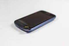Modernes intelligentes Telefon mit codierter Karte lizenzfreie stockbilder