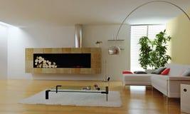 Modernes interio stockbild