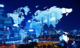 Modernes internationales Geschäft lizenzfreie stockfotos