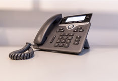 Modernes IP-Telefon Lizenzfreies Stockbild