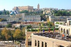 Modernes Jerusalem Stockfotografie