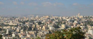 Modernes Jerusalem Stockfoto
