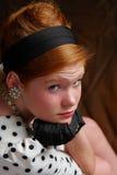 Modernes junges Mädchen Lizenzfreie Stockfotografie