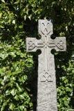 Modernes keltisches knotwork Kreuz Stockfotografie