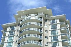 Modernes Kontrollturm-Stadt-Gebäude Stockbilder