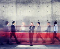 Modernes Konzept Geschäftsfrau-Individuality Role Models Lizenzfreie Stockfotos