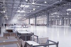 Modernes Lagerhaus Stockfotografie