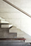Modernes Landhaus, Innenraum, Treppe Stockbild
