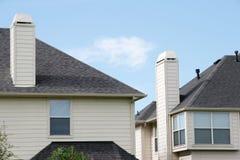 Modernes Leben in den heutigen Häusern Lizenzfreies Stockfoto