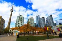 Modernes Leben Torontos Kanada Lizenzfreies Stockbild