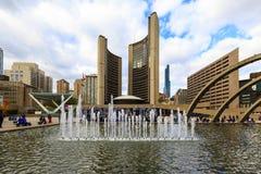 Modernes Leben Torontos Kanada Stockfoto