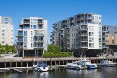 Modernes lebendes Rosenborgbassenget Trondheim Lizenzfreie Stockfotos