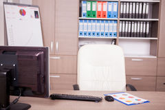 Modernes leeres Büro Lizenzfreie Stockfotografie