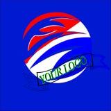 Modernes Logo des Entwurfs f?r Gesch?ft stock abbildung